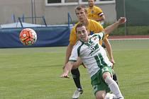 Jediná branka Martina Handla po hodině hry stačila fotbalistům Moravské Slavie k těsnému vítězství 1:0 nad Rousínovem v druhém kole krajského přeboru.