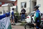 V brněnských Bosonohách si připomněli cyklistickou benefici Milčovo kolečko.