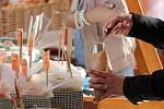 Farmářský, Bylinkový a speciální Luštěninový trh přivítaly návštěvníky na Bystrckých jarních slavnostech jídla a zdraví.