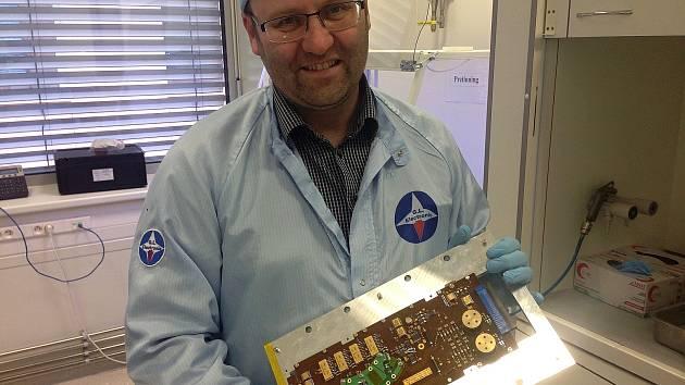 Luděk Graclík z Brna pracoval na nosičích Vega a Sojuz, které používá Evropská vesmírná agentura.