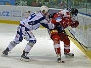 Hokejista Jan Hanzlík ještě v dresu Komety, ve kterém odehrál 169 utkání před svým odchodem do Mladé Boleslavi.