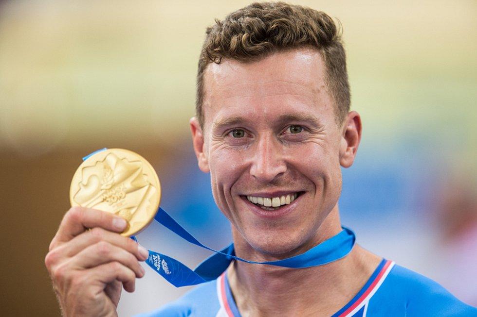 Vítěz Evropských her Tomáš Bábek.