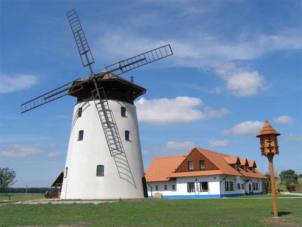Bukovanský větrný mlýn na Hodonínsku.