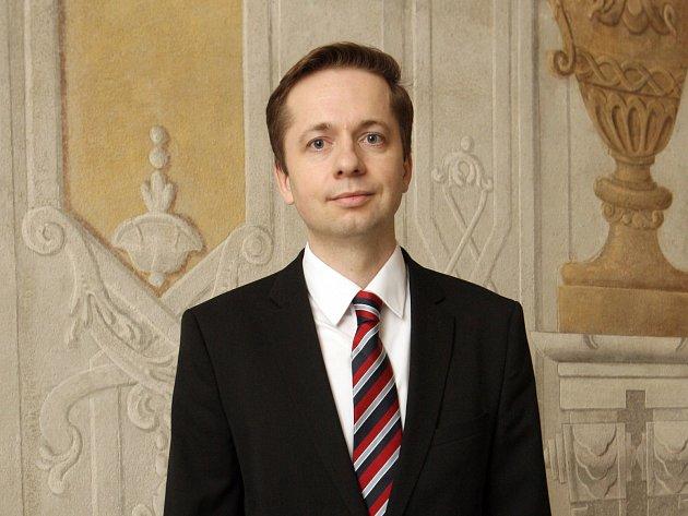 Náměstek primátora Robert Kotzian.