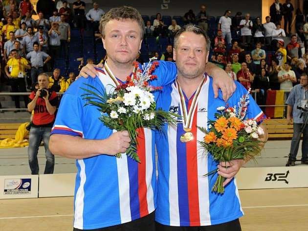 Brněnské mistrovství světa v sálové cyklistice.