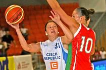 České basketbalistky - ilustrační fotografie.