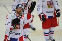 Hokejový útočník Martin Havlát.