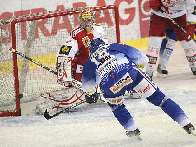 Hokejisté brněnské Komety ztratili proti Slavii vedení 3:0 a prohráli 3:4 v prodloužení.