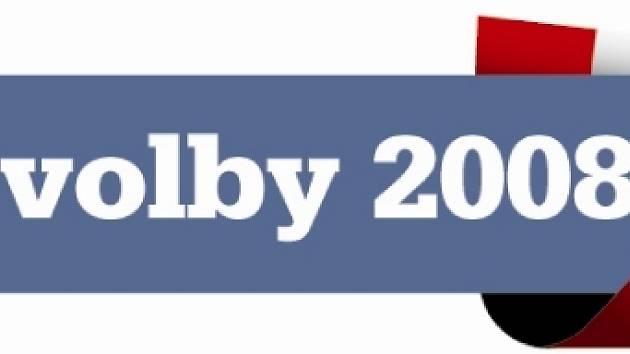 Logo Krajské volby 2008