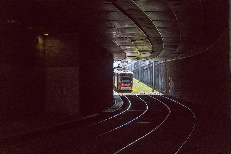 Fotografie ke studii proveditelnosti severojižního kolejového diametru pod Brnem.