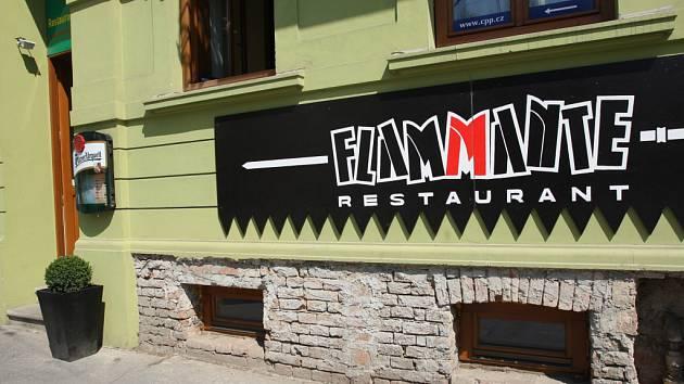 Restaurace Flammante v Brně.