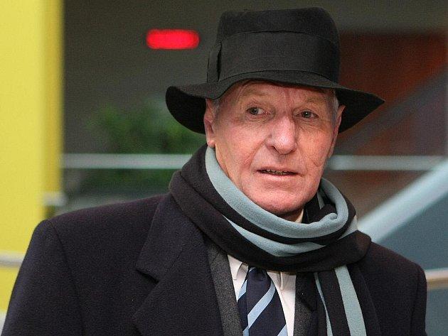Dvaašedesátiletý Brit Albert Thomas Vickery u brněnského městského soudu.
