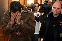 Obviněný syřan Fahed Mohamad