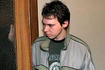 Petr Jakub u soudu, který jej poslal do vazby.