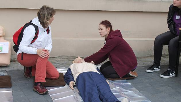 Ve Vyškově studenti Gymnázia a Střední škola zdravotnické a ekonomická soutěžili v poskytování první pomoci