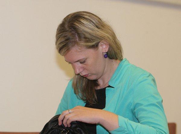 Obžalováná Renata Weisová.