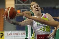 Basketbalistka Marina Solopová.