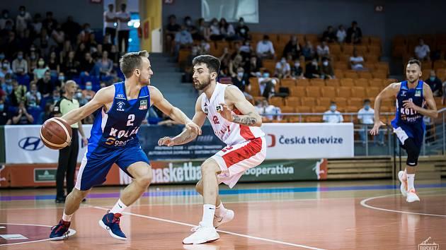 Basketbalisté Brna Kolínu v sérii o třetí místo podlehli.