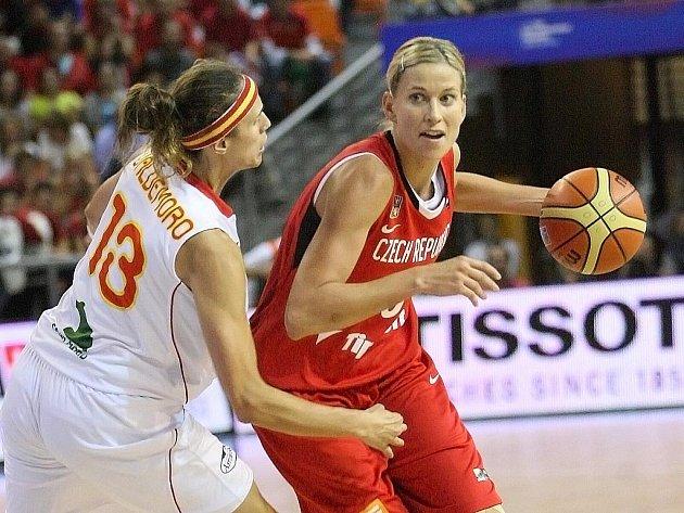 Mistrovství světa v basketbale - ČR vs Španělsko.