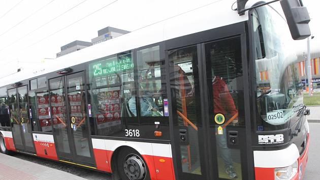 Trolejbusy v Brně. Ilustrační foto.