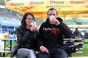 První ročník hudebně pivního festivalu Beer Fest Brno 2017 na fotbalovém stadion za Lužánkami v Brně.