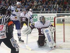 Kometa Brno doma porazila pražskou Spartu 5:3.