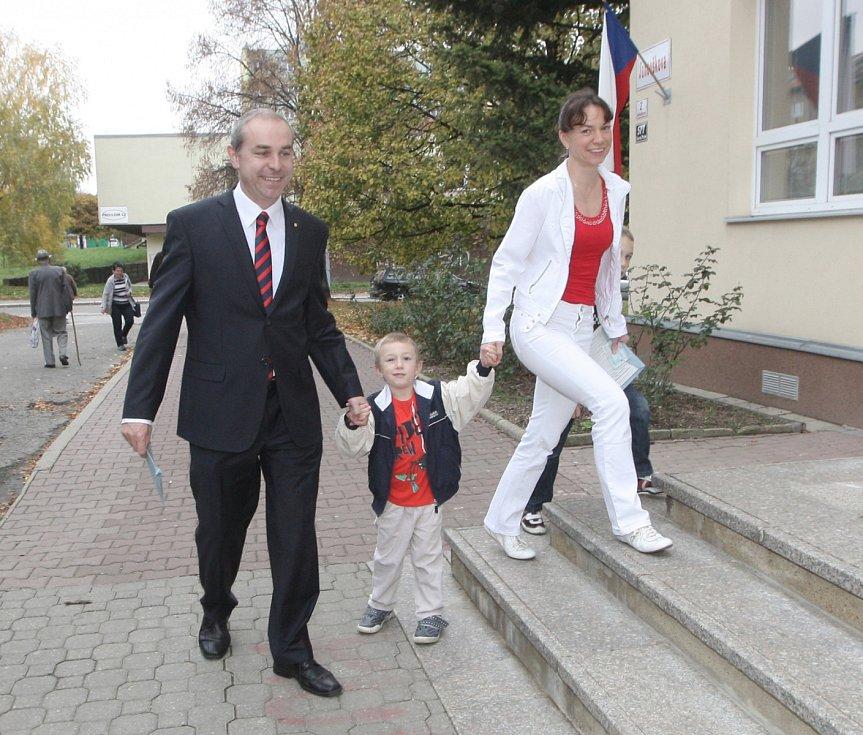 Lídr křesťanských demokratů na jižní Moravě Jiří Mihola.