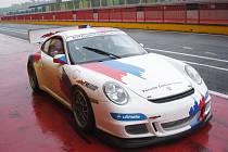 Jiří Mičánek mladší s Porsche 997 GT3 Cup