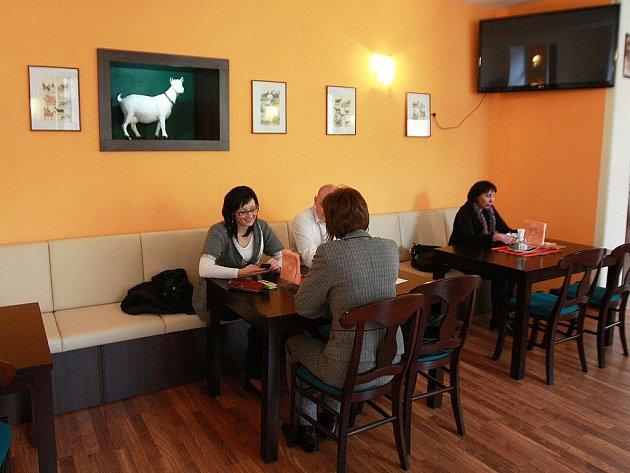 Restaurace U mlsné kozy v Brně.
