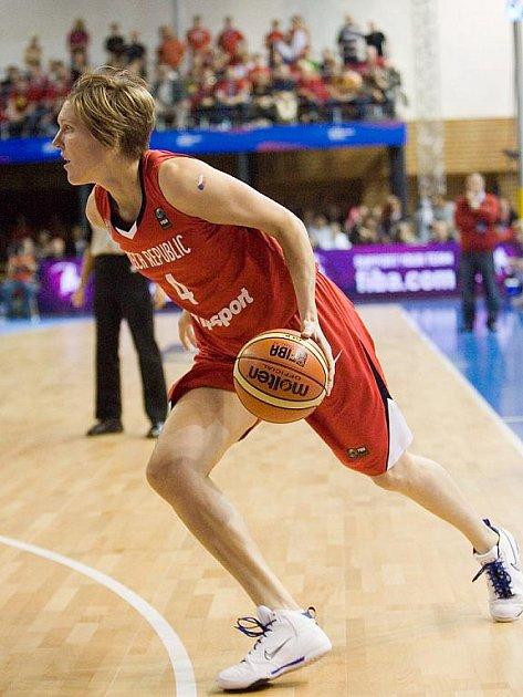 Mistrovství světa v basketbale - Jana Veselá.