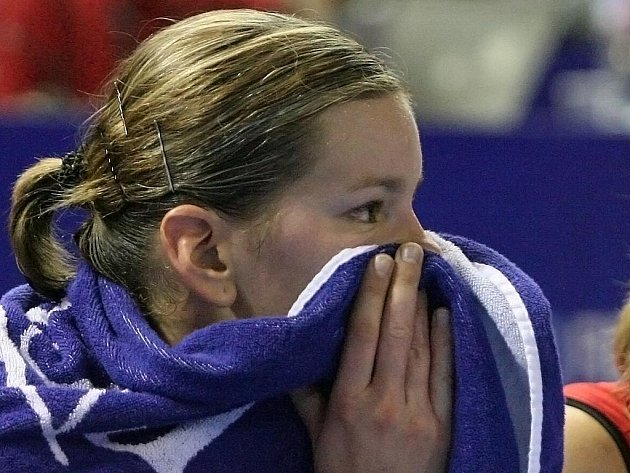 Mistrovství světa v basketbale - Eva Vitečková.