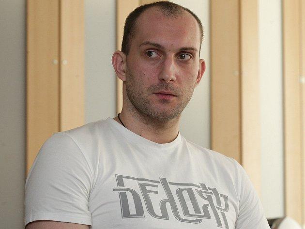 Volejbalista Sergej Andrianov.