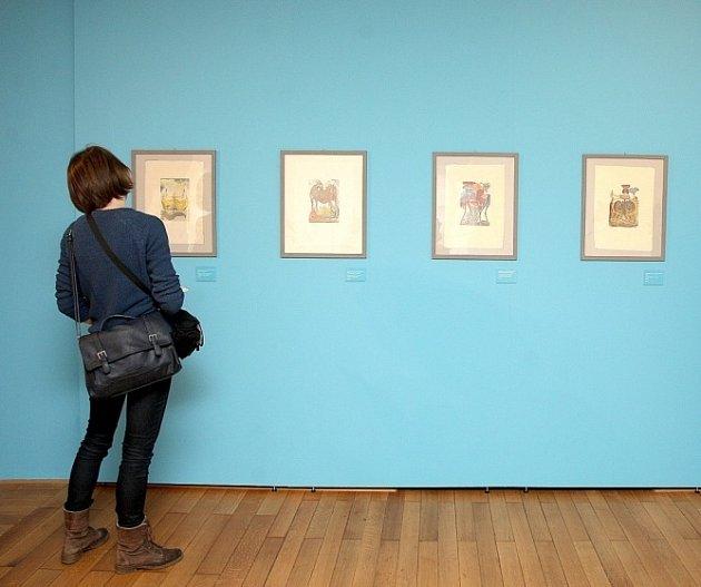 Muzeum města Brna včera zahájilo novou výstavu Zhmotnění neskutečného, která představuje méně známá díla katalánského malíře