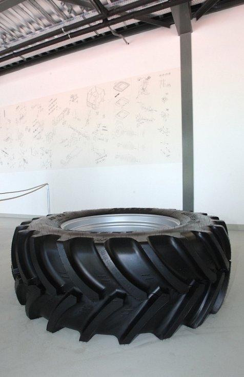 Brněnská firma Zetor ve čtvrtek otevřela novou výstavní halu nazvanou Zetor Gallery.