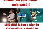Humorná videa, obrázky a montáže, které kolují na internetu a sociálních sítích. Vtipálci si dobírají změny v karanténě i vládních nařízeních