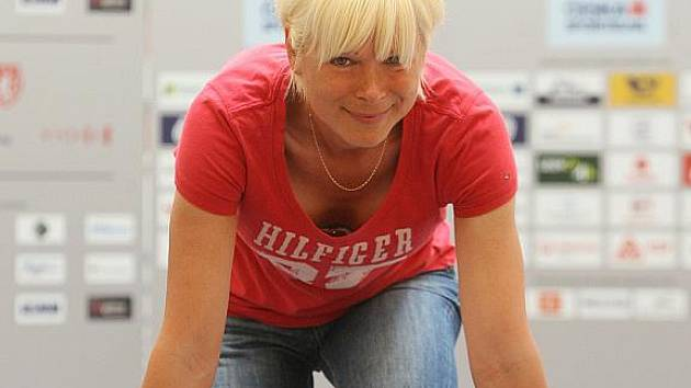 Sprinterka Erika Suchovská.