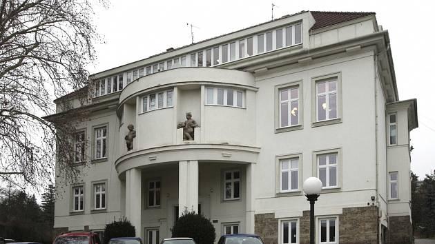 Brněnská vila, kterou postavil ve dvacátých letech minulého století architekt Vladimír Fischer.