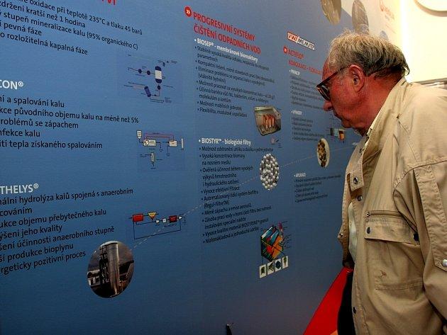 Jeden z návštěvníků ekologických veletrhů ENVI