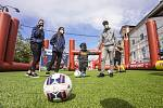 Fotbalové slavnosti už zavítaly do Pardubic.