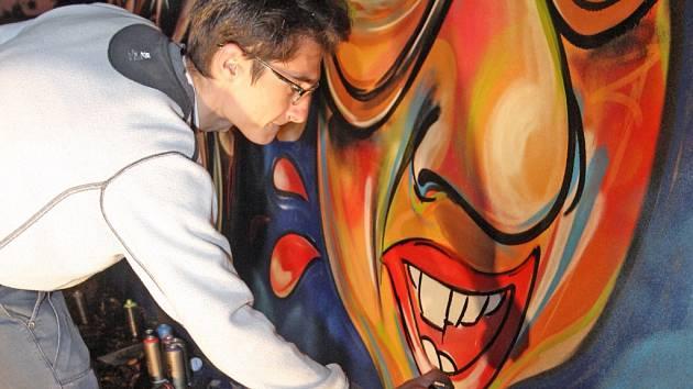 Akci Grafitti jam pořádalo v Ivančicích na Brněnsku tamní centrum mládeže.