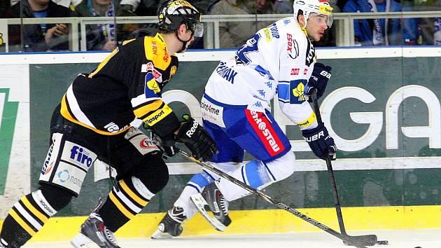 Litvínov si odvezl z ledu Komety tři body za výhru 3:2.