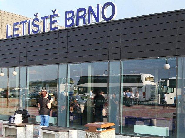 Letiště v brněnských Tuřanech.