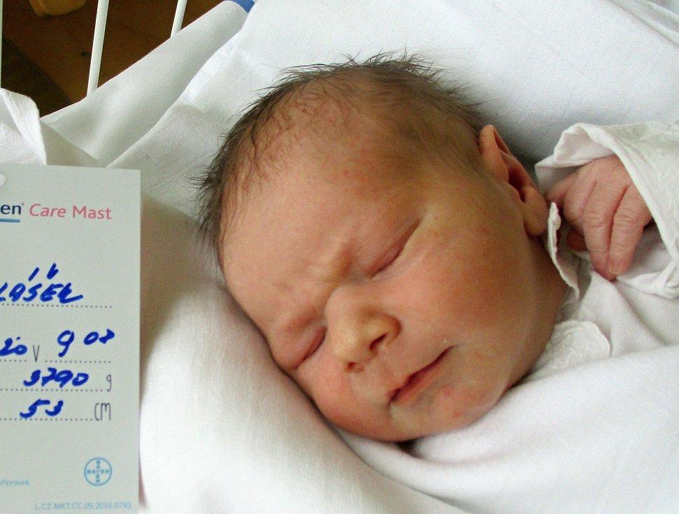 Patrik Polášek, 23. 11. 2020, 3790 g, 53 cm, Velké Bílovice, Nemocnice Břeclav