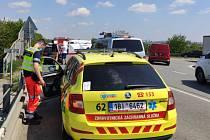Při nehodě u Modřic na Brněnsku zemřel mladý motorkář.