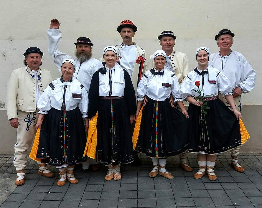 Slovácký soubor Šafrán Brno