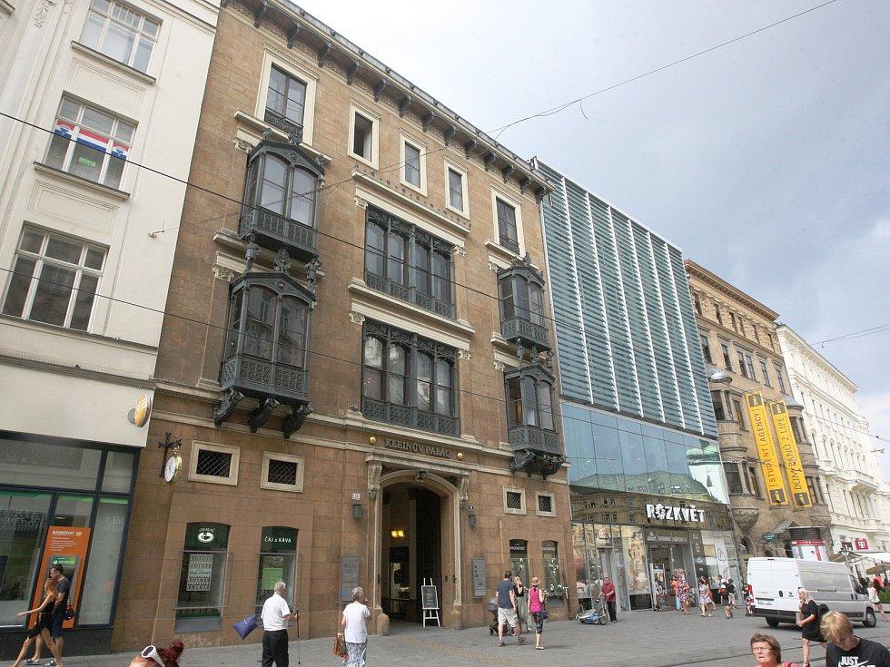 Kleinův palác na brněnském náměstí Svobody.