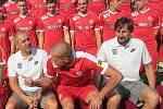 Fotbalová Zbrojovka Brno se připravuje na boj o návrat do nejvyšší domácí soutěže.