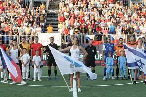 Po dvou letech opět ožijí Lužánky mezinárodním měřením sil v malém fotbale. Foto z roku 2017.