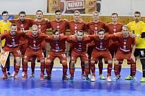 Český futsalový tým odehraje na začátku února v Brně kvalifikaci o postup na MS 2020.