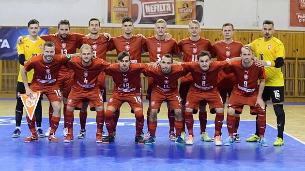 Česká futsalová reprezentace zná složení týmu pro brněnskou kvalifikaci